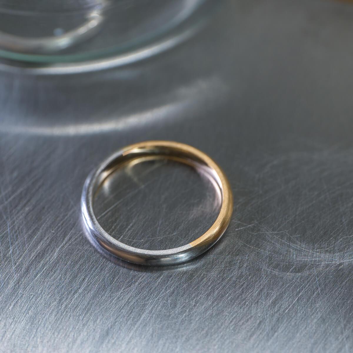 オーダーメイドマリッジリング ジュエリーのアトリエ プラチナ、ゴールド 屋久島でつくる結婚指輪