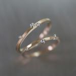 オーダーメイドマリッジリング ジュエリーのアトリエに指輪 ゴールド、プラチナ 屋久島の雨 屋久島で作る結婚指輪