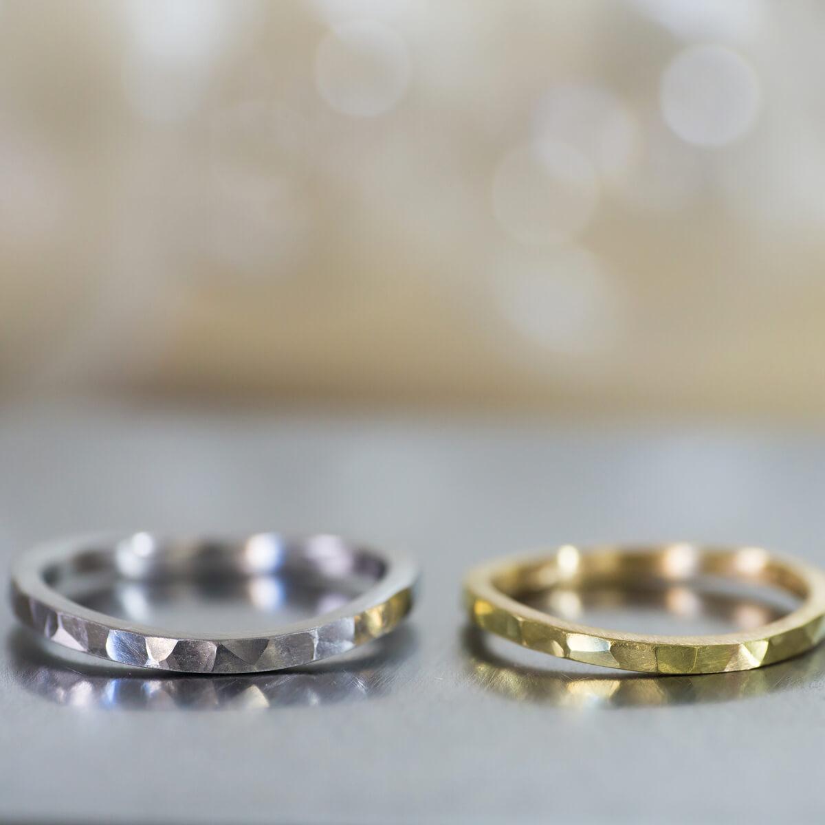 オーダーメイドマリッジリング ジュエリーのアトリエ ゴールド、プラチナ 屋久島でつくる結婚指輪