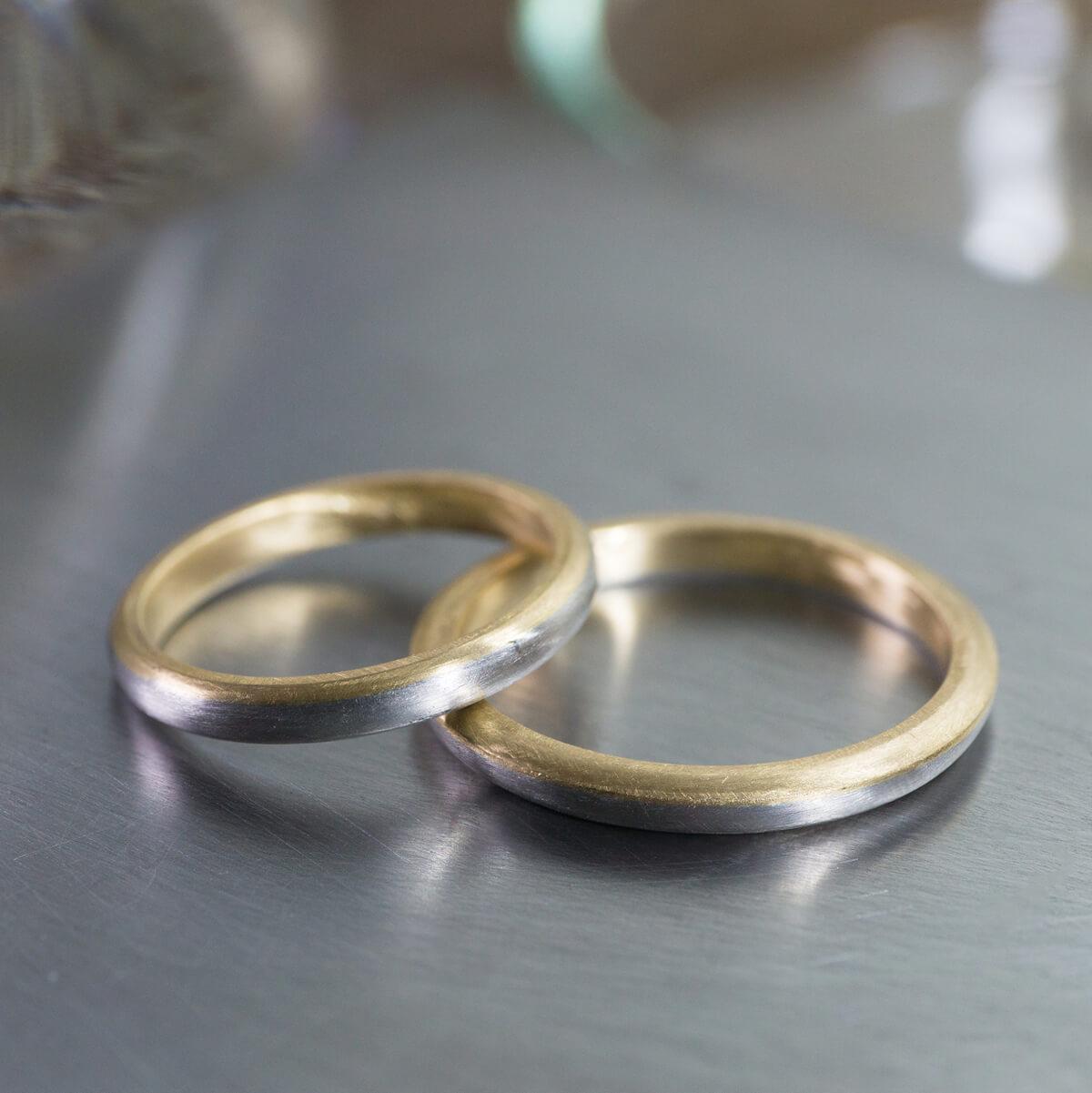 オーダーメイドマリッジリング ジュエリーのアトリエ プラチナ、ゴールド 屋久島の海モチーフ 屋久島でつくる結婚指輪