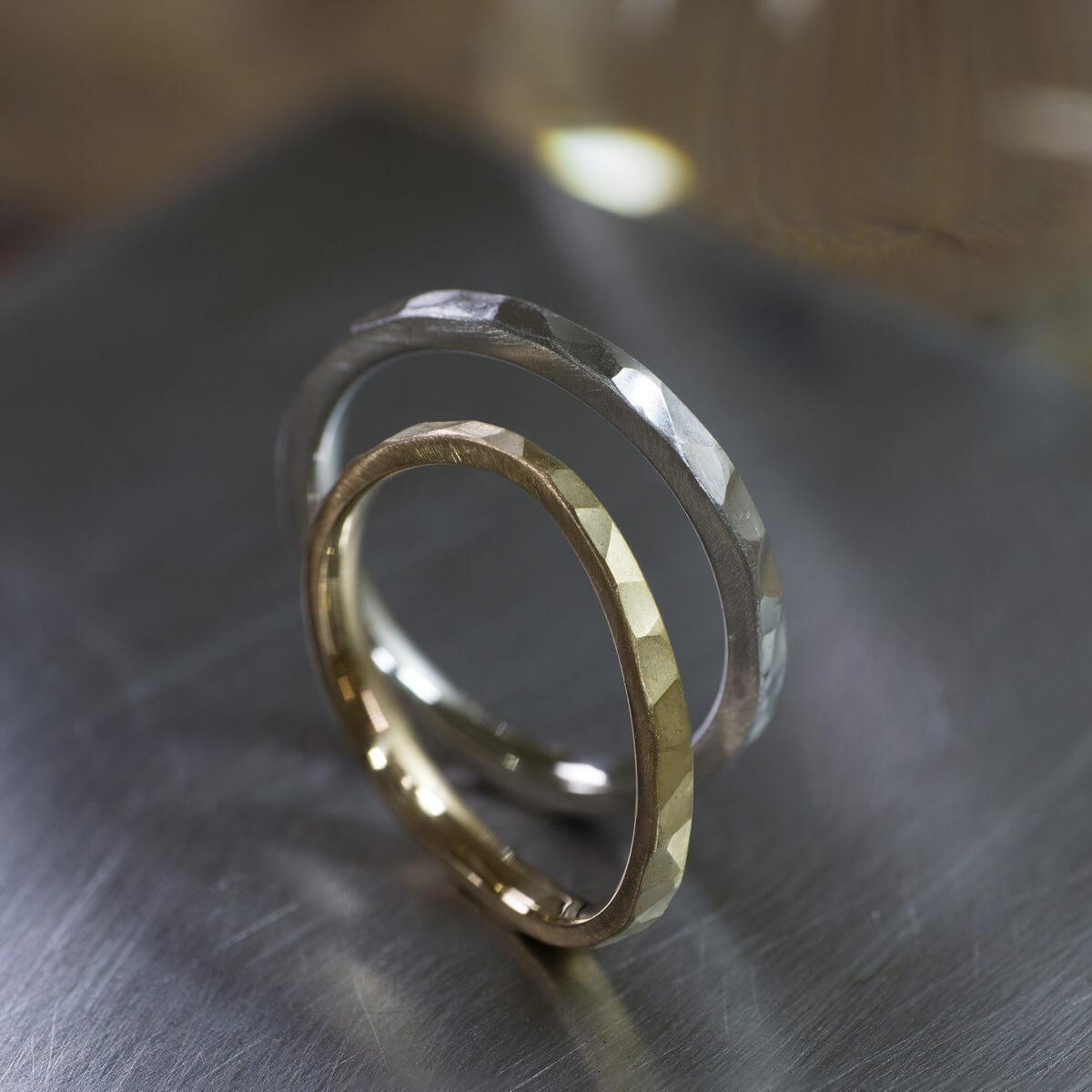 オーダーメイドマリッジリング、プラチナ、ゴールド ジュエリーのアトリエ、屋久島の海モチーフ 屋久島でつくる結婚指輪