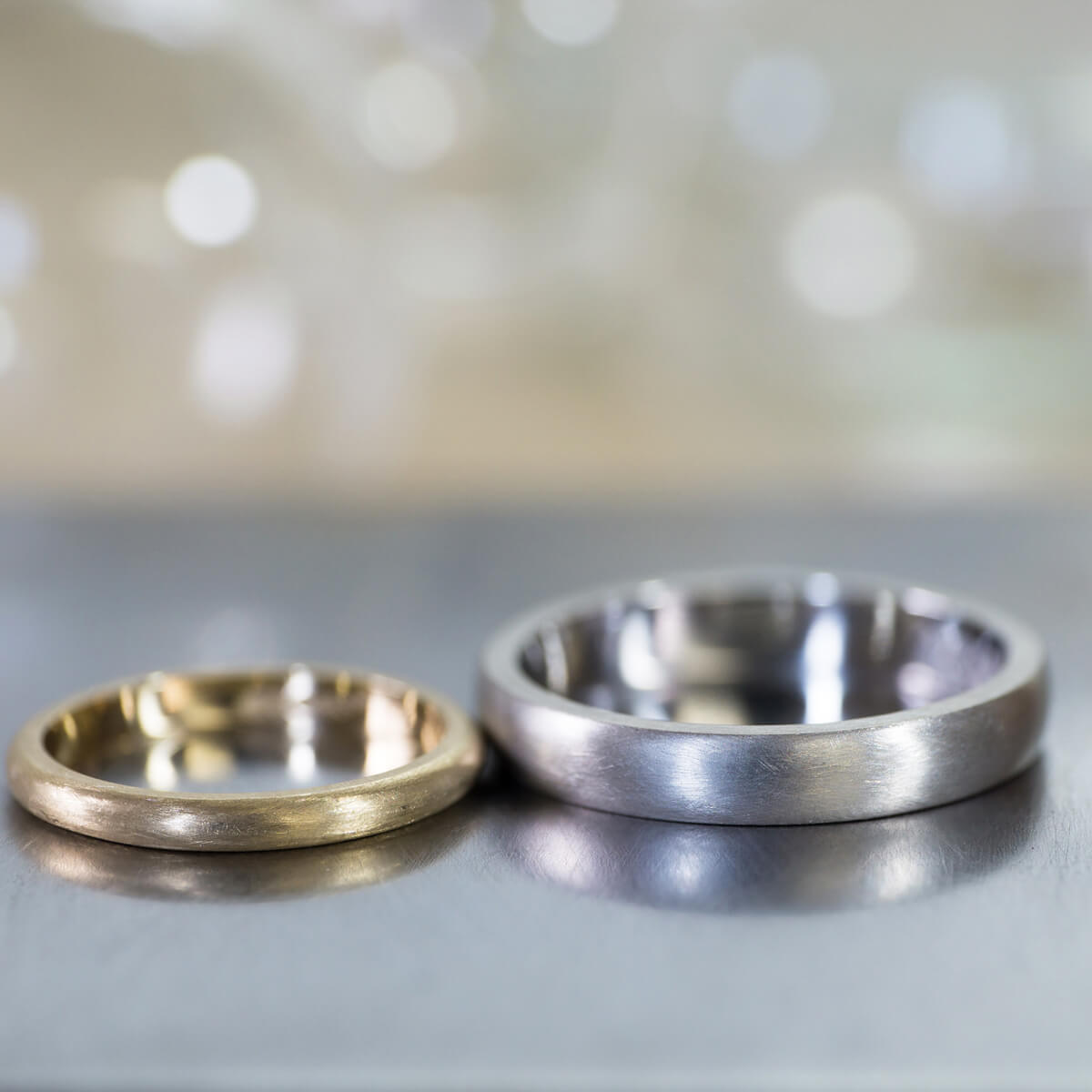オーダーメイド結婚指輪 ジュエリーのアトリエ ゴールド、プラチナ 屋久島でつくる結婚指輪