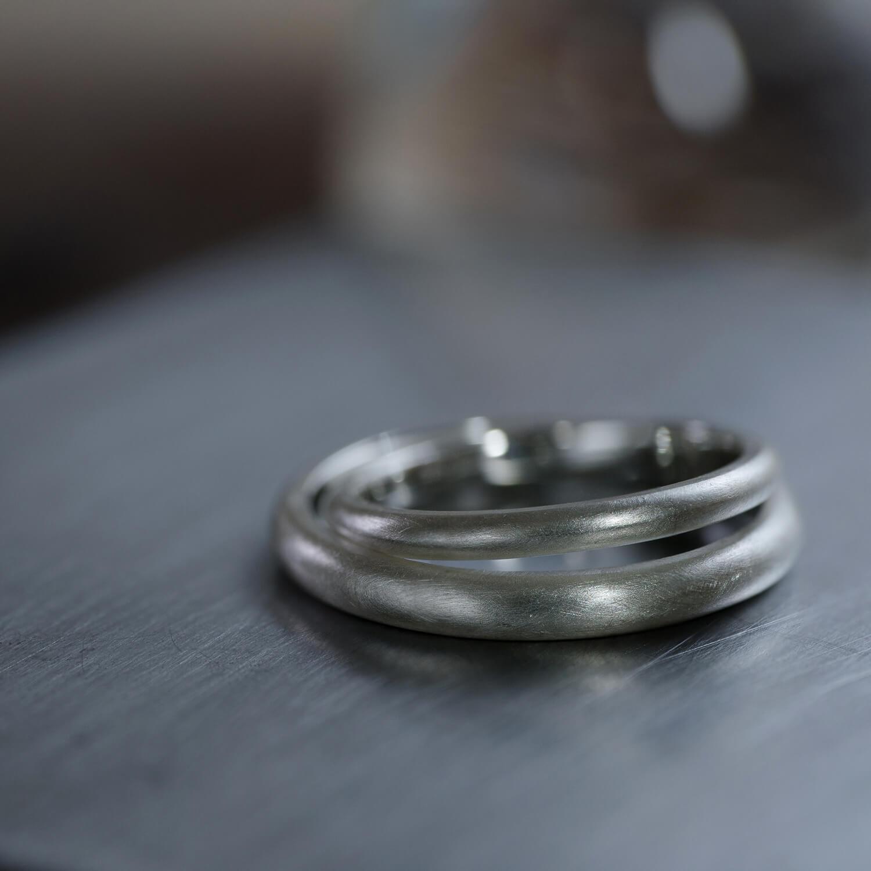 オーダーメイド結婚指輪 ジュエリーのアトリエ シルバーリング 屋久島でつくる結婚指輪