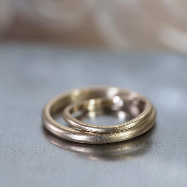 オーダーメイドマリッジリング ジュエリーのアトリエ ゴールド 屋久島でつくる結婚指輪