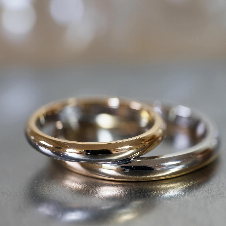 オーダーメイドマリッジリング 屋久島ジュエリーのアトリエ ゴールド、プラチナ 屋久島の海モチーフ 屋久島でつくる結婚指輪