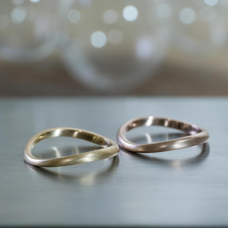 オーダーメイドマリッジリング 屋久島ジュエリーのアトリエ ゴールド  屋久島海とジュエリー 屋久島でつくる結婚指輪