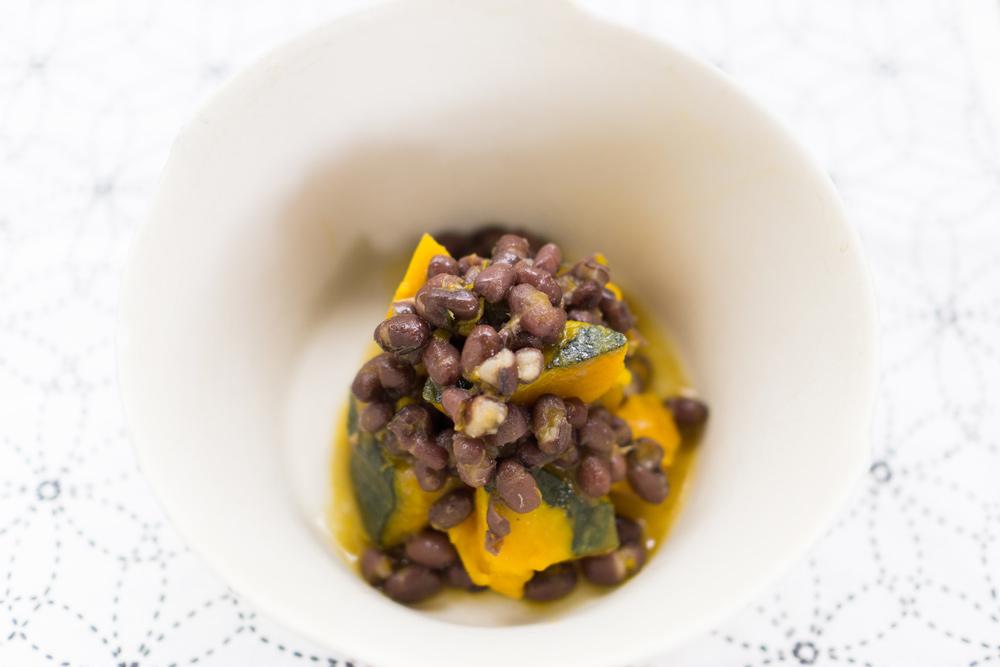 かぼちゃと小豆の煮物 屋久島日々の暮らしとジュエリー