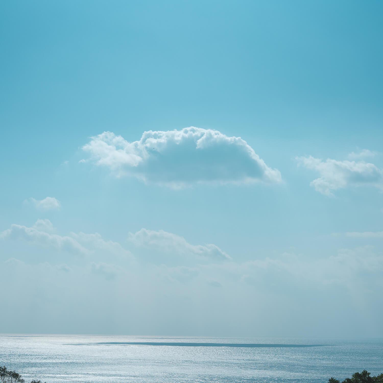 屋久島の海、空、雲 屋久島海とジュエリー オーダーメイドマリッジリングのインスピレーション
