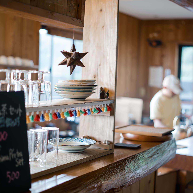 屋久島のカフェ 屋久島日々の暮らしとジュエリー