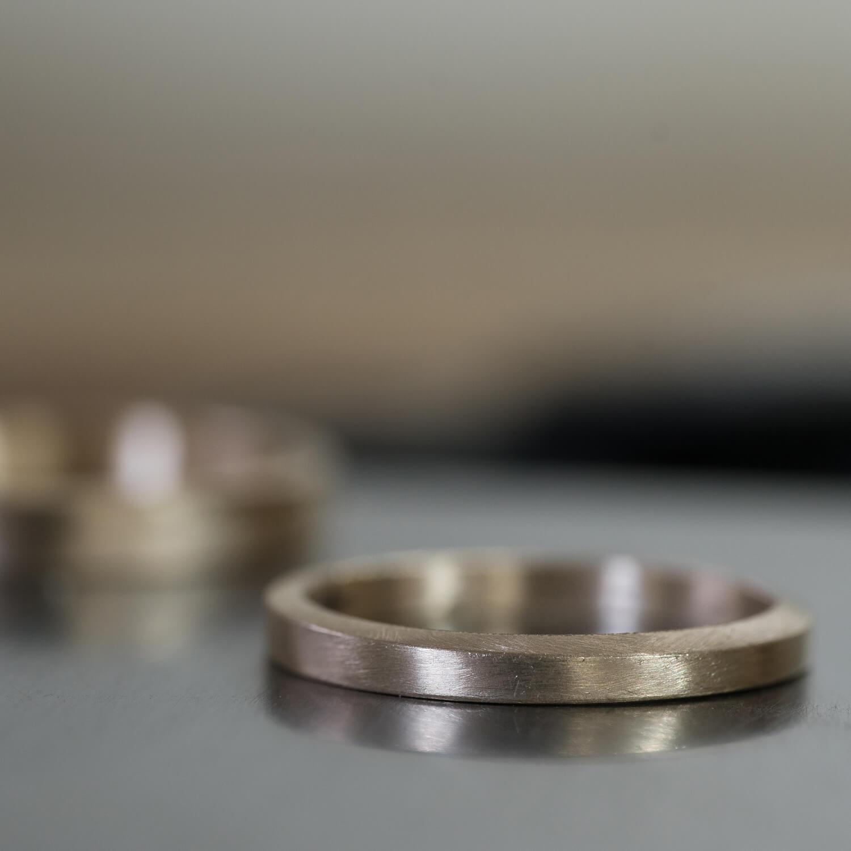 場面4 オーダーメイドマリッジリングの制作風景 屋久島ジュエリーのアトリエ ゴールド 屋久島でつくる結婚指輪