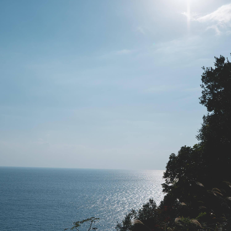 屋久島の海、空 屋久島日々の暮らしとジュエリー オーダーメイドマリッジリングのインスピレーション