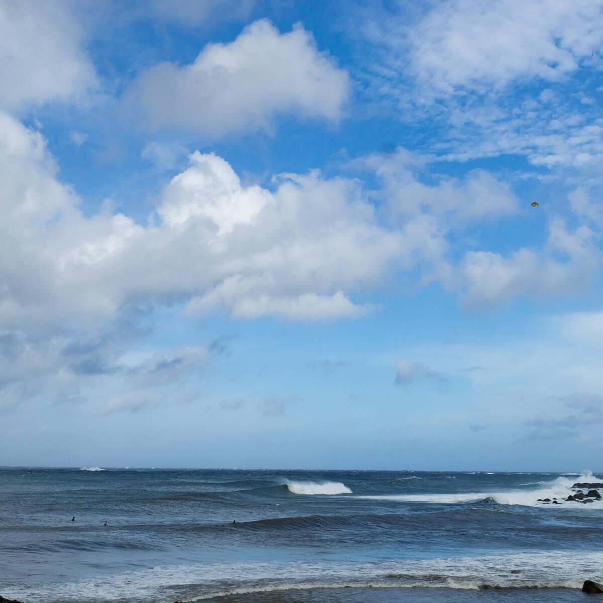 屋久島の空、海 屋久島海とジュエリー オーダーメイドジュエリーのモチーフ