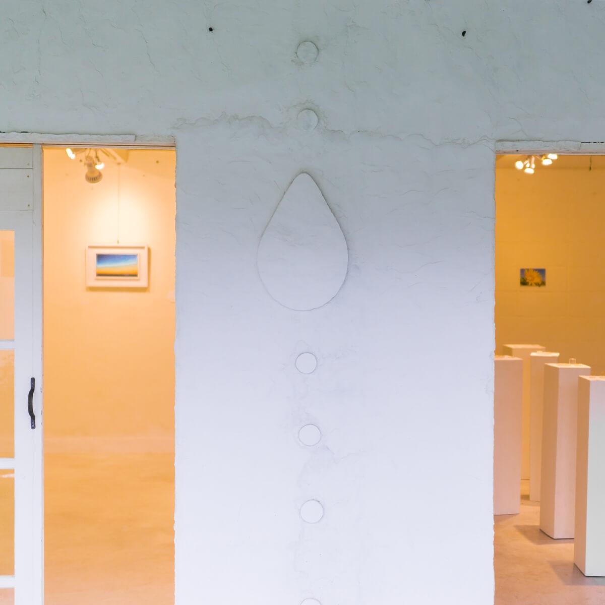 屋久島しずくギャラリー エントランス 屋久島でジュエリーと絵画のギャラリー