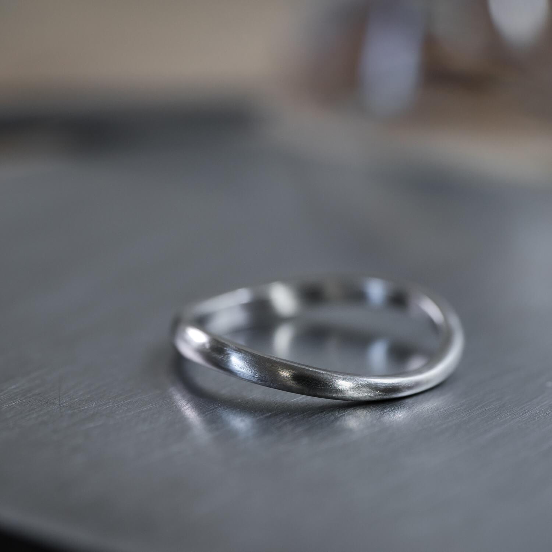 オーダーメイドマリッジリング ジュエリーのアトリエ プラチナリング 屋久島でつくる結婚指輪