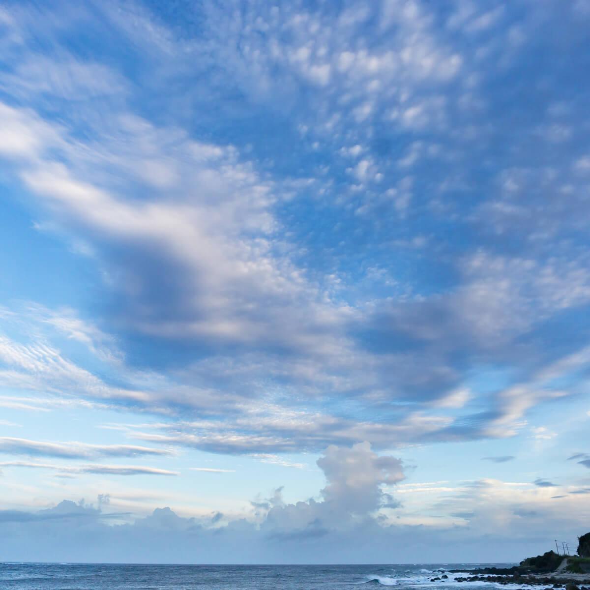 屋久島の海、空 屋久島海とジュエリー オーダーメイドマリッッジリングのモチーフ