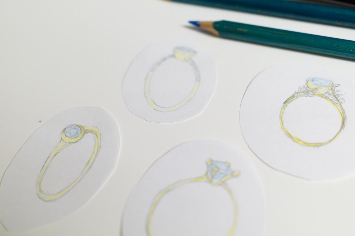 オーダーメイドマリッジリングのデザイン 屋久島でつくる結婚指輪 屋久島の自然からインスピレーション