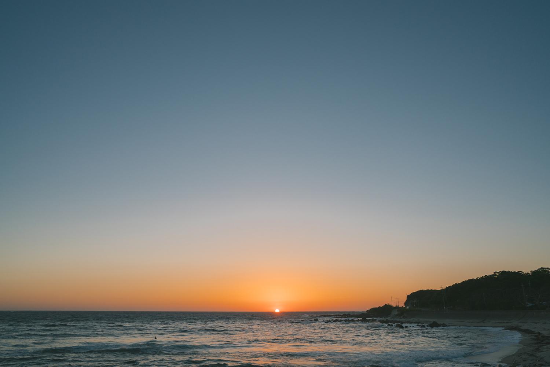 屋久島の海、空、夕暮れ 屋久島海とジュエリー オーダーメイドマリッジリングのインスピレーション 屋久島でつくる結婚指輪