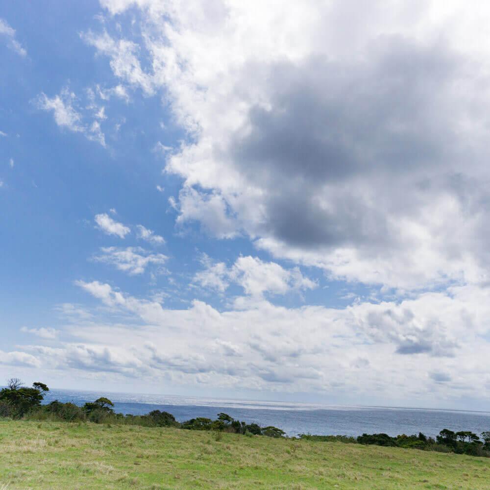 屋久島の海、空 屋久島日々の暮らしとジュエリーと