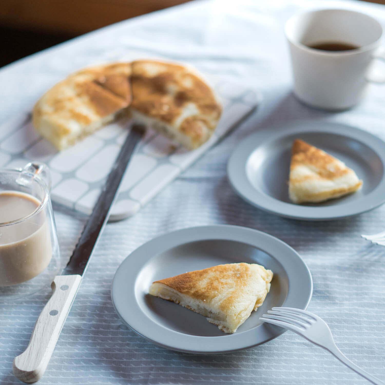 コーヒータイム、バナナパンケーキ 屋久島日々の暮らしとジュエリー