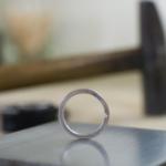 オーダーメイドマリッジリングの制作風景 ジュエリーのアトリエにプラチナリング 屋久島でつくる結婚指輪