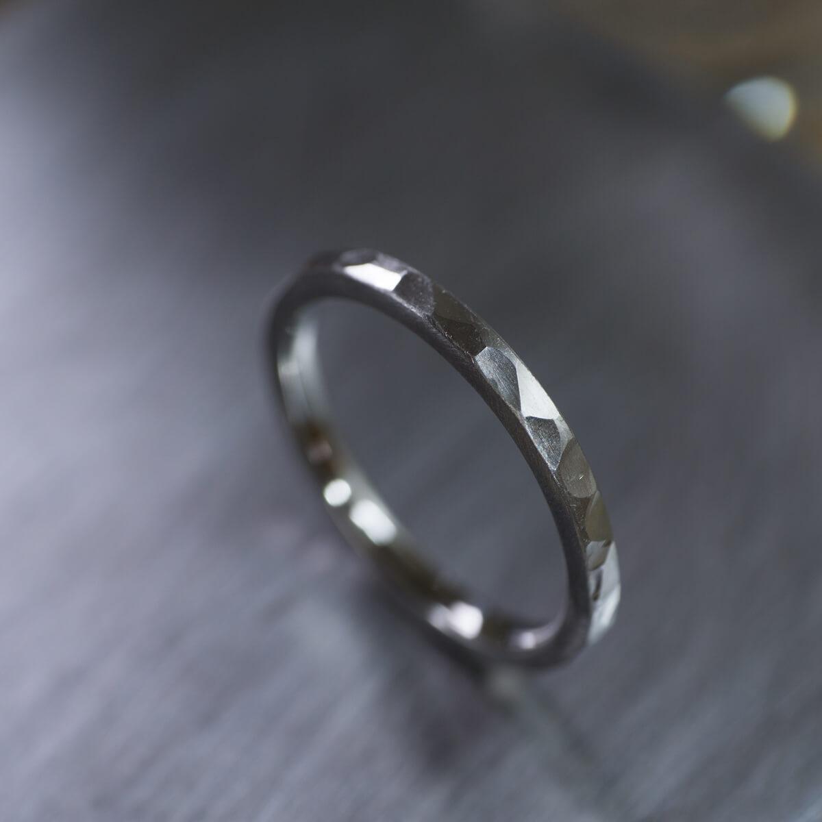 オーダーメイドマリッジリング、プラチナ、ジュエリーのアトリエ、屋久島の海モチーフ 屋久島でつくる結婚指輪