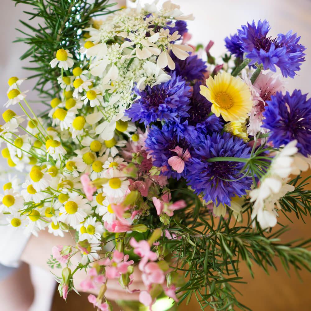屋久島春の花で花束を 屋久島花とジュエリー オーダーメイドマリッジリングのモチーフ