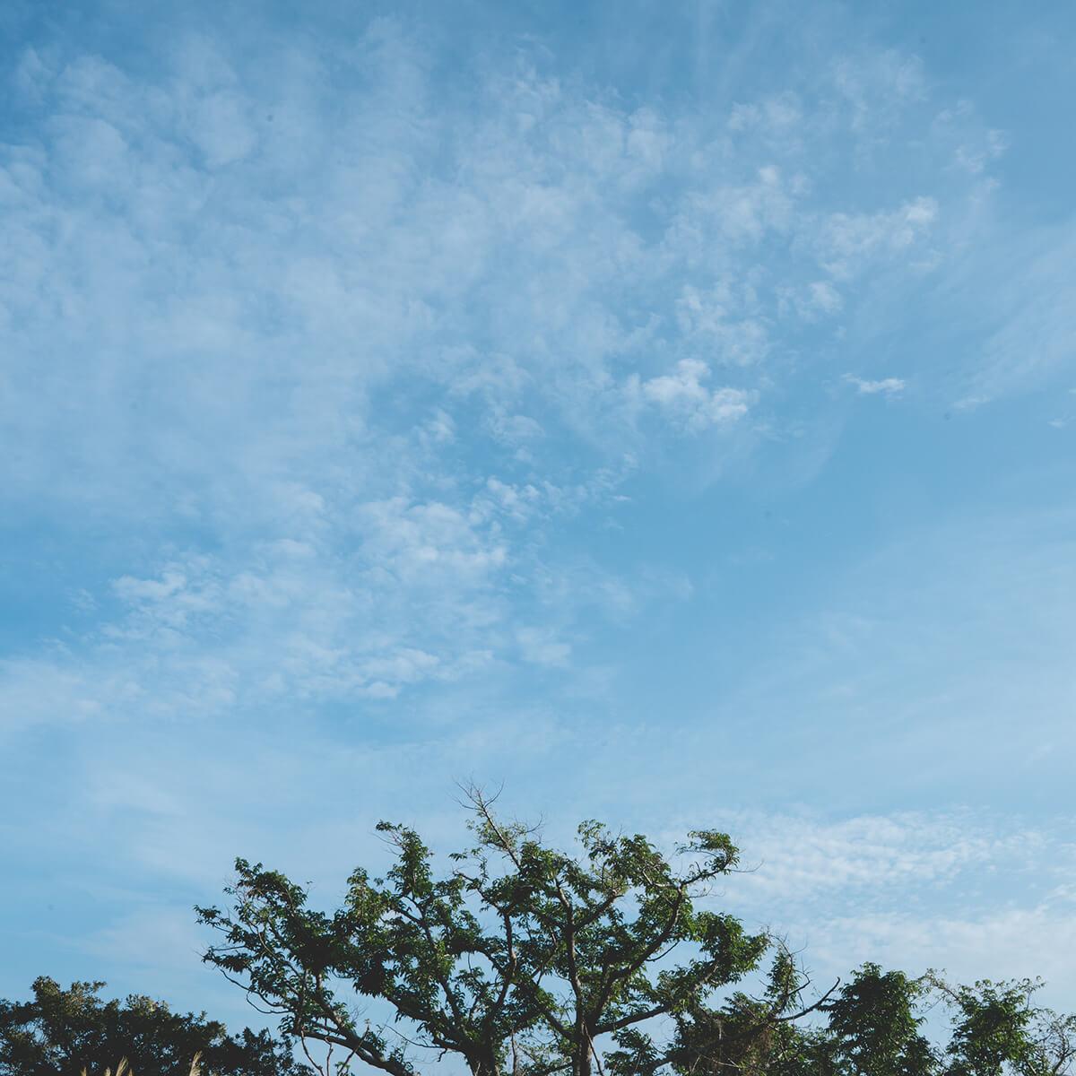 屋久島の空 屋久島日々の暮らしとジュエリー オーダーメイドジュエリーのインスピレーション