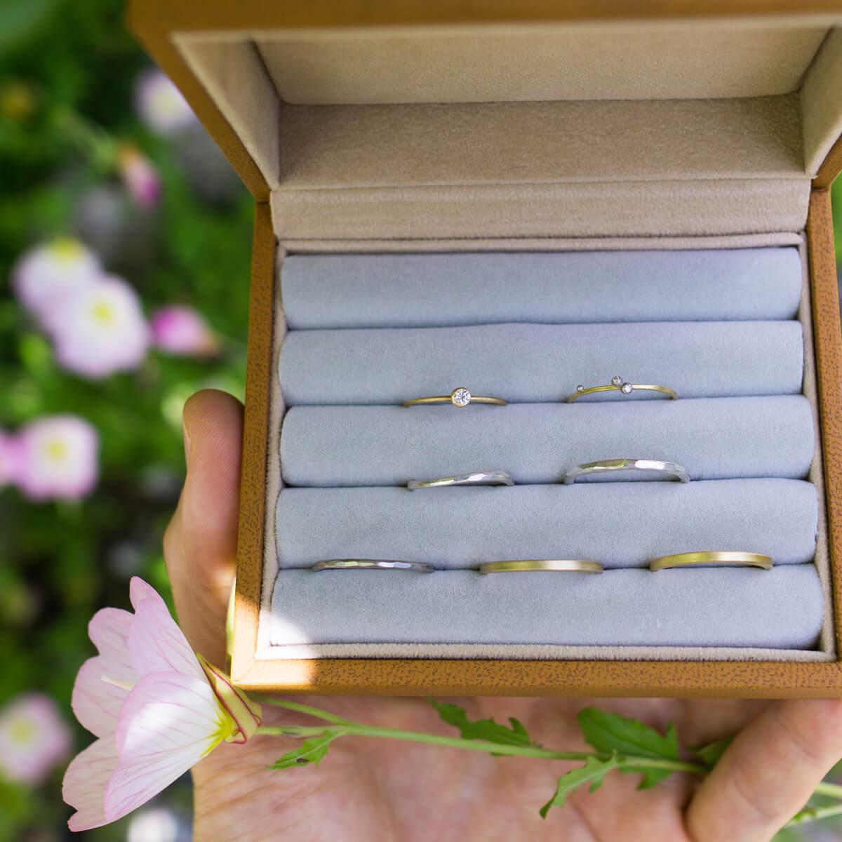 出会いがあって、結婚指輪があって。奇跡のような瞬間。#屋久島でつくる結婚指輪