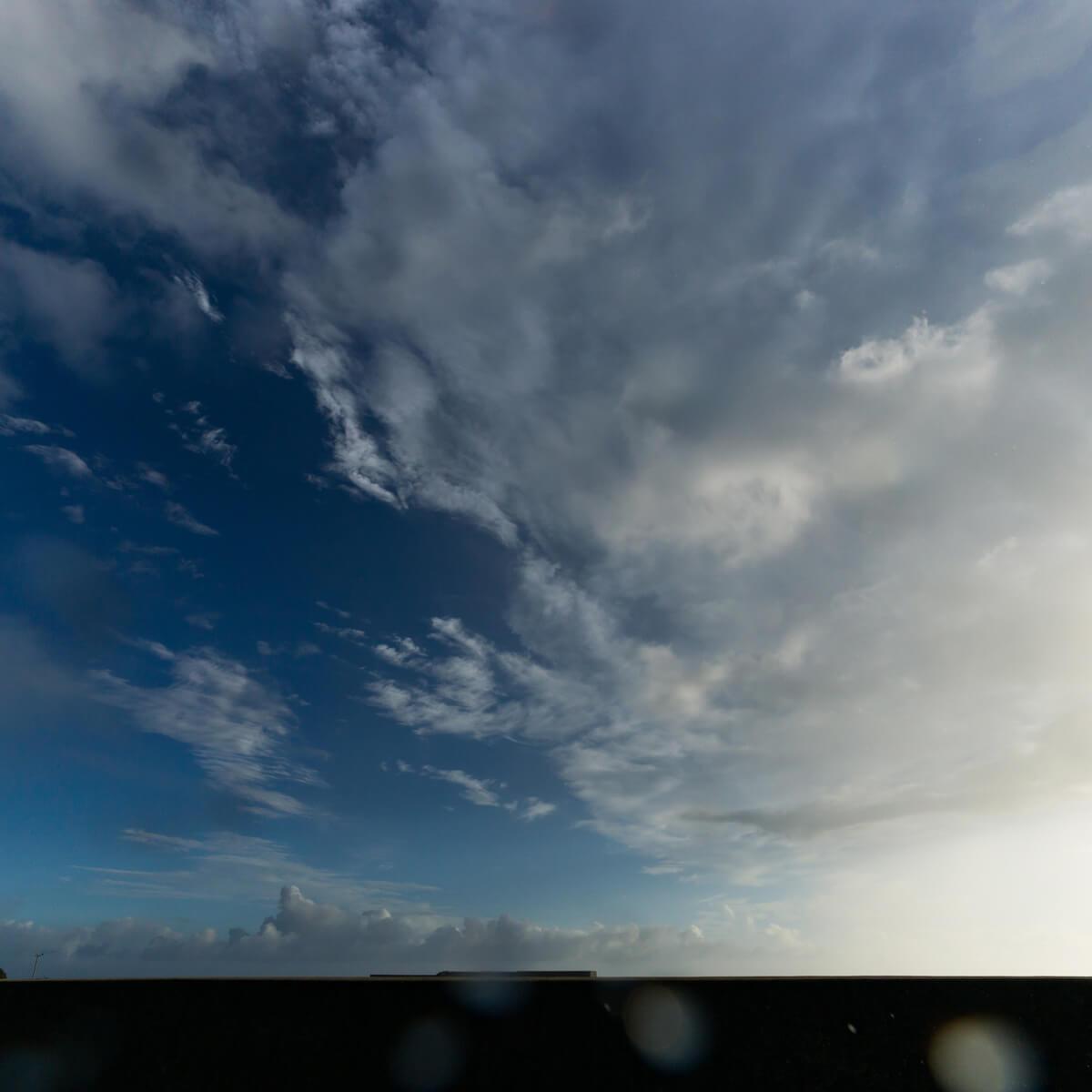 屋久島の海、空、雨上がり 屋久島海とジュエリー オーダーメイドジュエリーのモチーフ