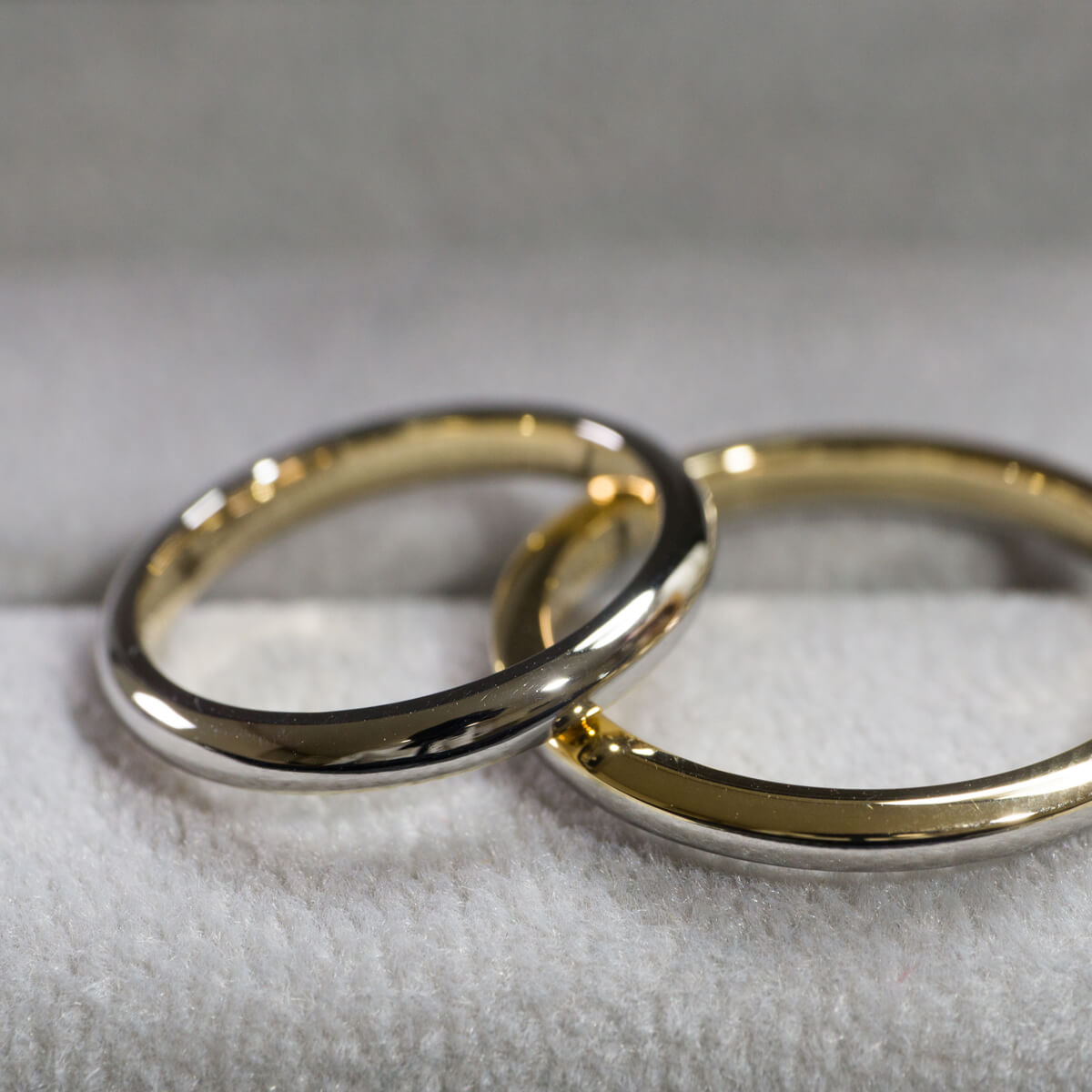 場面2 オーダーメイドマリッジリング ジュエリーのアトリエ ゴールド、プラチナ 屋久島でつくる結婚指輪
