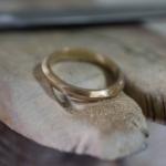 オーダーメイドマリッジリングの制作過程 屋久島ジュエリーのアトリエ ゴールド 屋久島でつくる結婚指輪