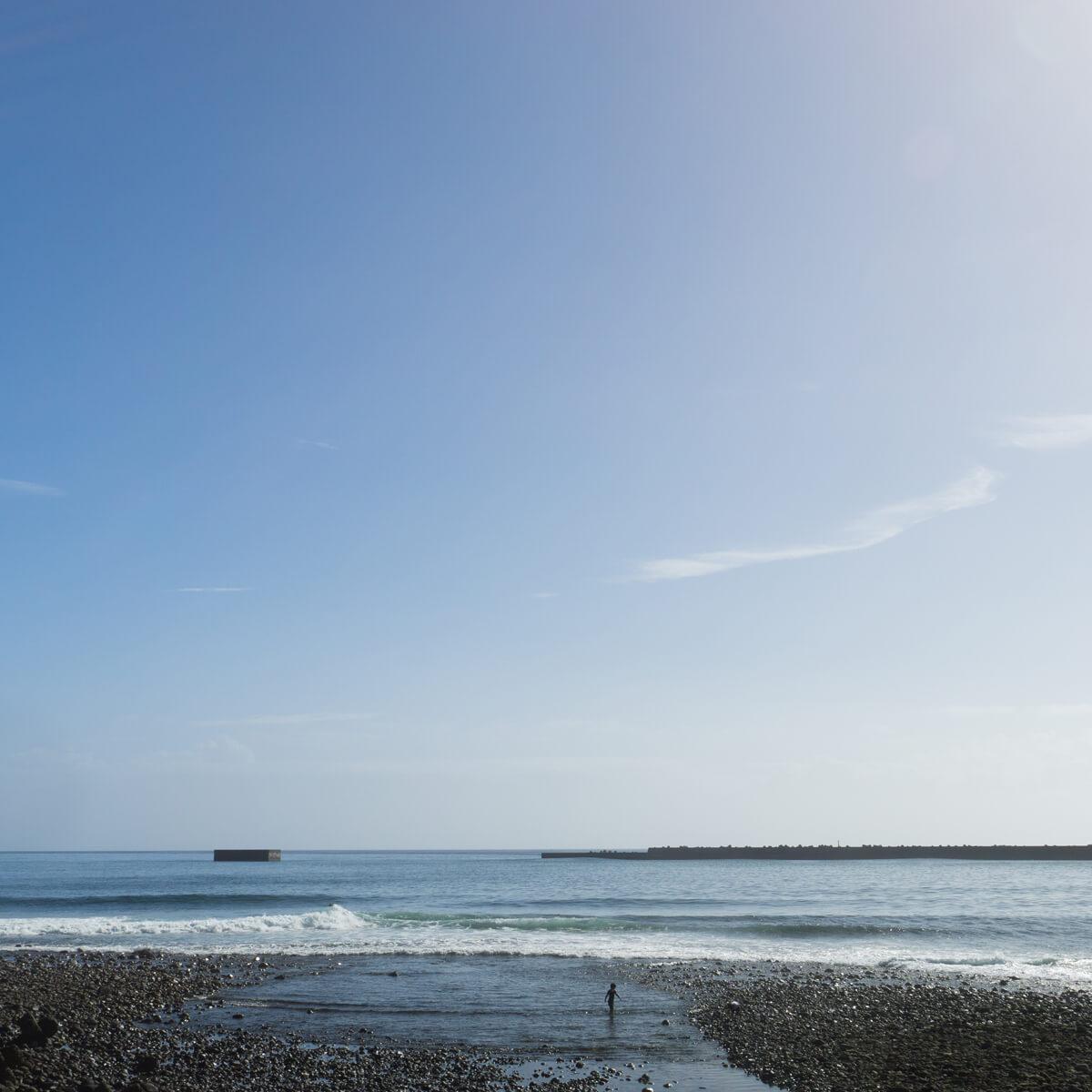 屋久島の海、空 屋久島海とジュエリー オーダーメイドマリッジリングのモチーフ