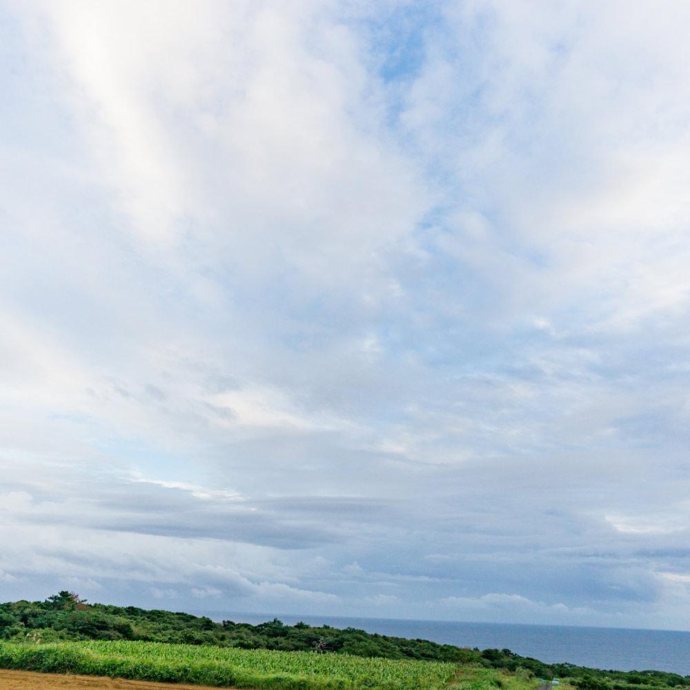 屋久島サウス 海、青空