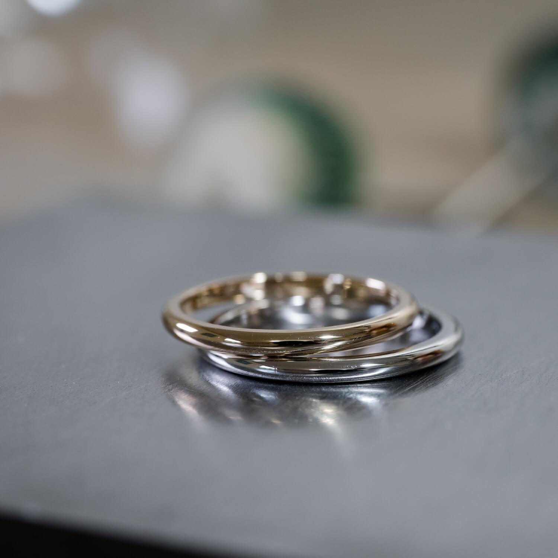 オーダーメイドマリッジリング 屋久島ジュエリーのアトリエ プラチナ、ゴールド 屋久島でつくる結婚指輪