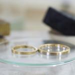 ジュエリーの制作風景 ゴールドリング、プラチナとゴールドのリング 屋久島で作る結婚指輪