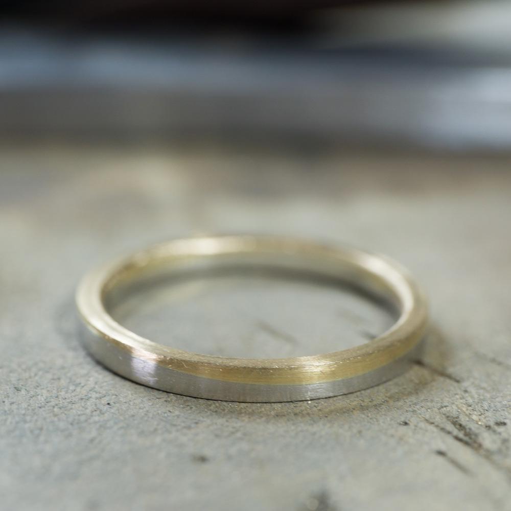 オーダーメイドのマリッジリング 制作風景 ゴールド、プラチナ 屋久島でつくる結婚指輪