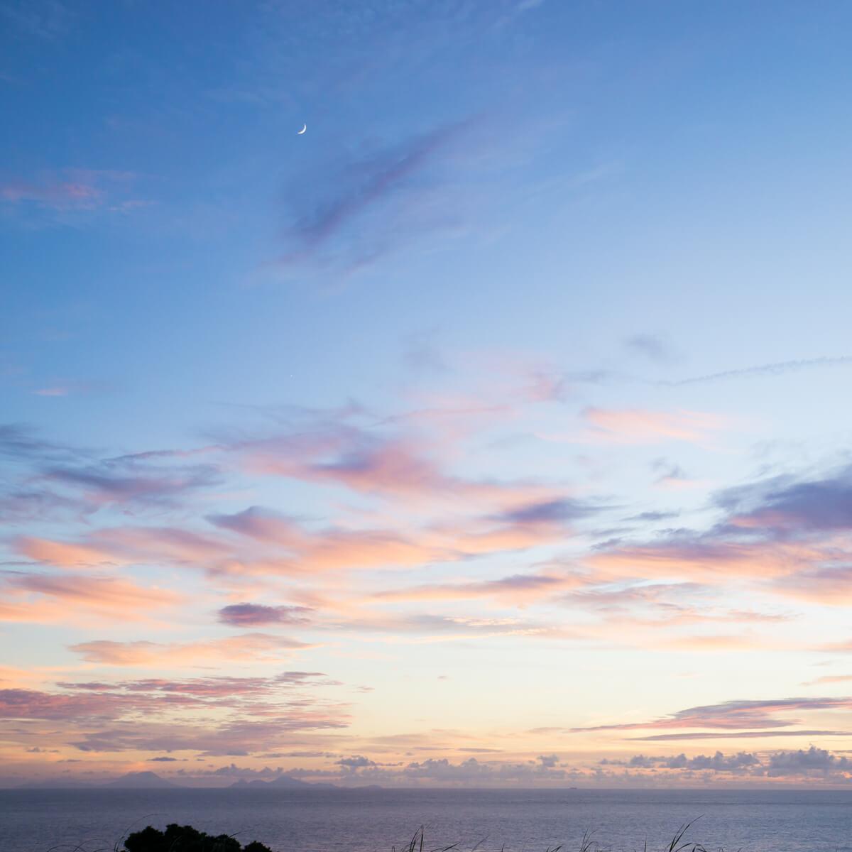 屋久島の海、空月 屋久島海とジュエリー オーダーメイドジュエリーのモチーフ