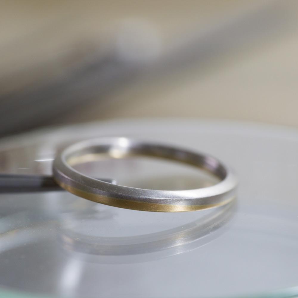 オーダーメイドのマリッジリング プラチナ、ゴールド 屋久島でつくる結婚指輪