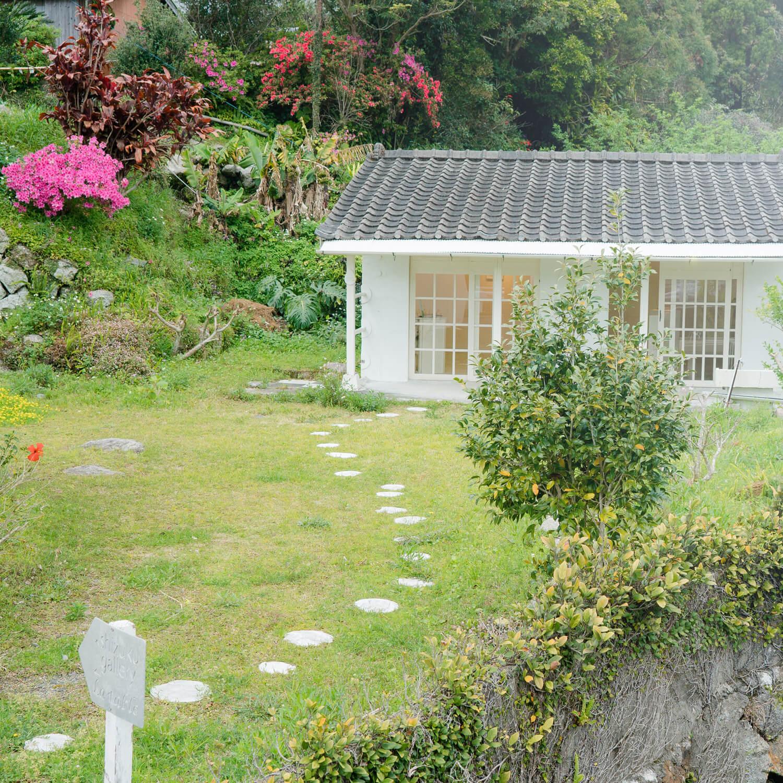 屋久島しずくギャラリー 外観 屋久島でジュエリーの販売 屋久島でつくる結婚指輪