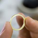 オーダーメイドマリッジリングの制作過程 ゴールドリング 屋久島でつくる結婚指輪