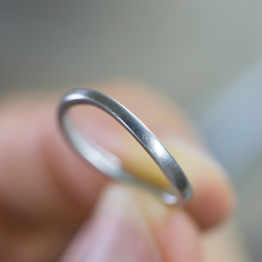 オーダーメイドマリッジリング ジュエリーのアトリエ プラチナ 屋久島で作る結婚指輪