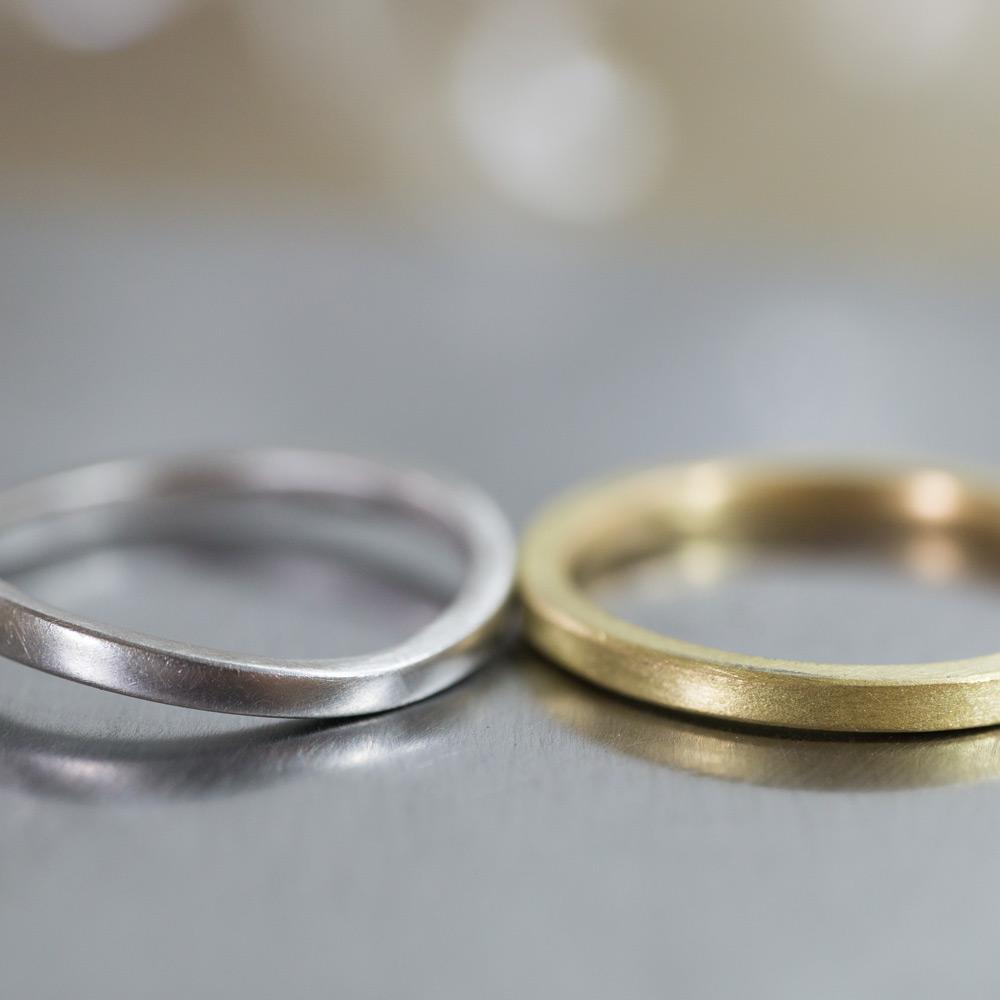 オーダーメイドマリッジリング 屋久島のアトリエ プラチナ、ゴールド 屋久島で作る結婚指輪