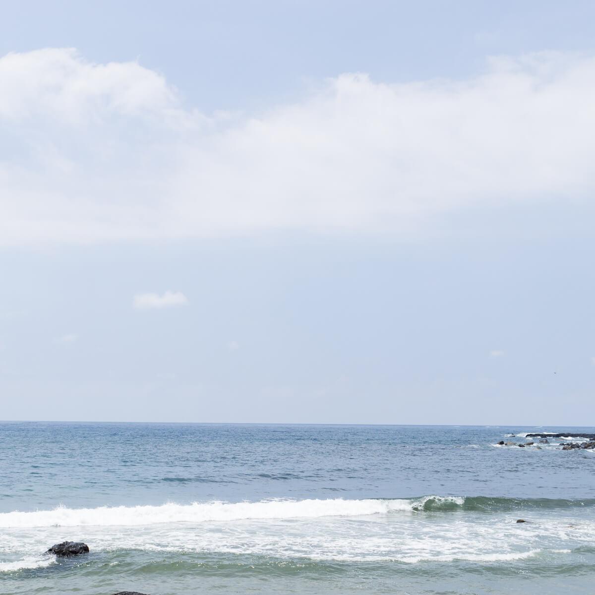 屋久島の海、空 夏の予感 屋久島海とジュエリー オーダーメイドマリッジリングのモチーフ