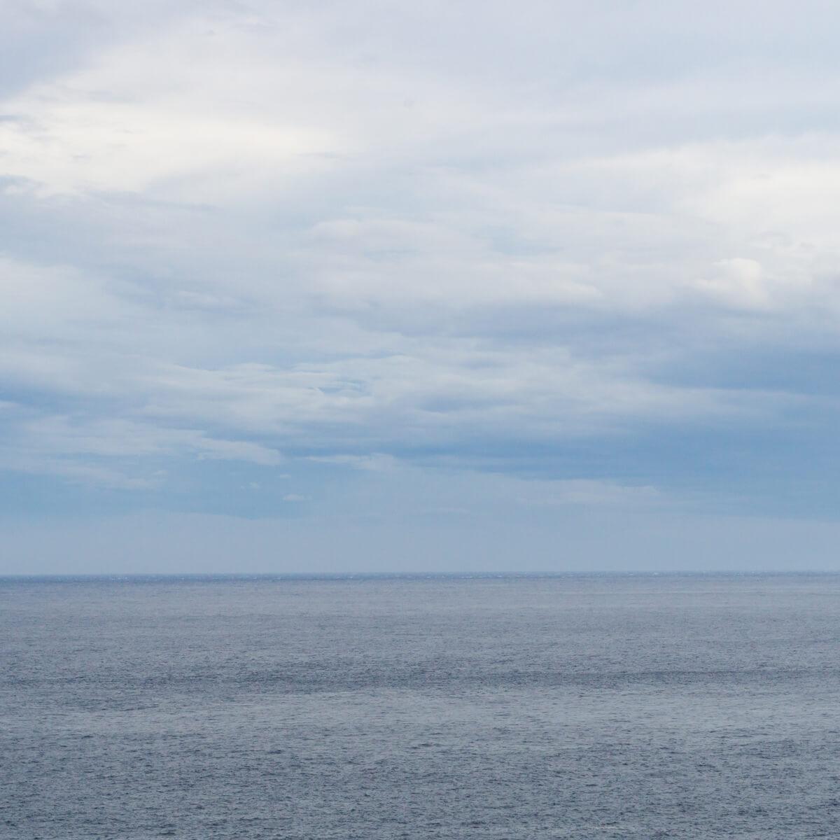 屋久島の海 水平線 屋久島海とジュエリー 屋久島つくる結婚指輪
