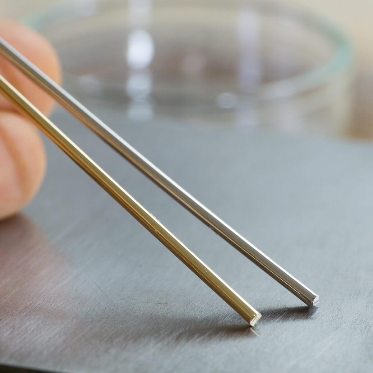 オーダーメイドマリッジリングの素材 ジュエリーのアトリエ ゴールド、プラチナ 屋久島でつくる結婚指輪