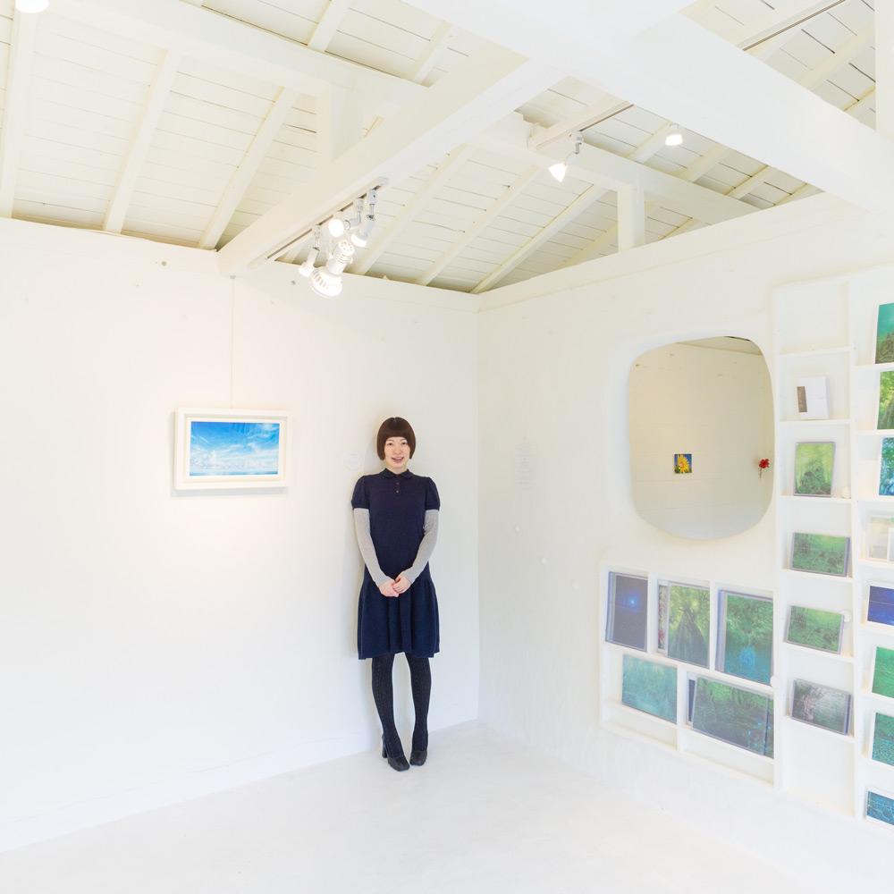 屋久島しずくギャラリー 絵画の部屋 高田裕子と作品