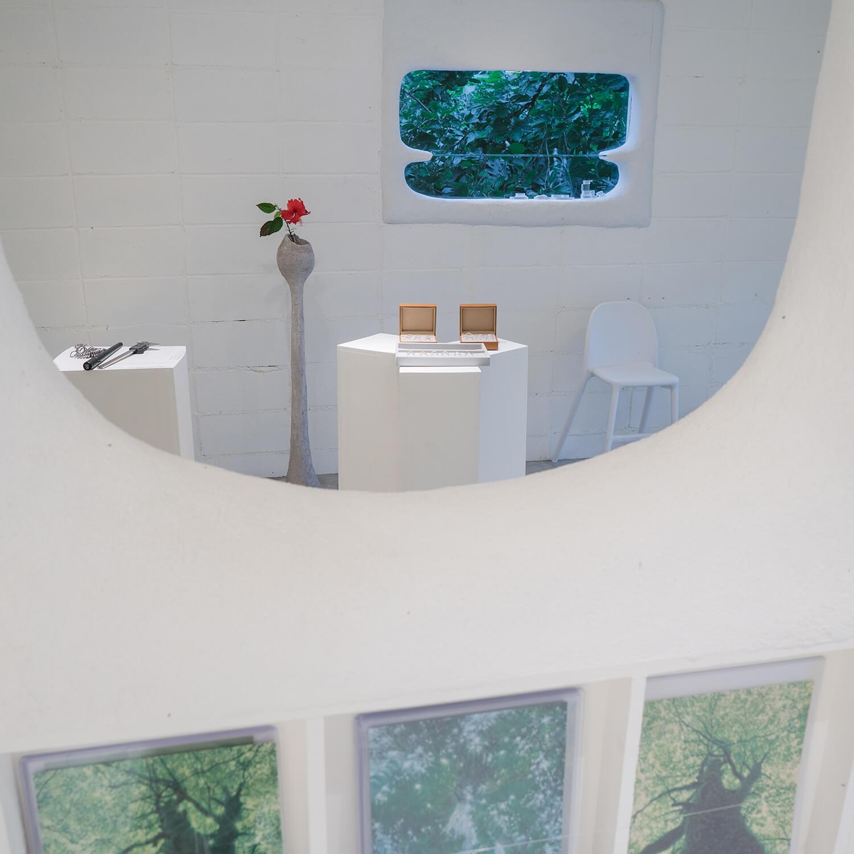 屋久島しずくギャラリー ジュエリーの部屋 屋久島雨とジュエリー オーダーメイドマリッジリングのオーダーメイド 屋久島でつくる結婚指輪