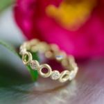 オーダーメイドマリッジリング ジュエリーのアトリエ 屋久島の山茶花 プラチナ、ゴールド 屋久島で作る結婚指輪