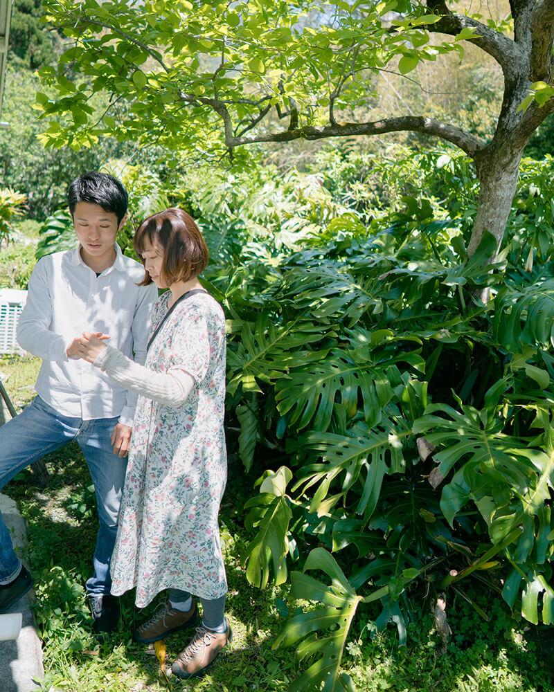 屋久島しずくギャラリーの庭 オーダーメイドマリッジリングの相談会 屋久島でつくる結婚指輪