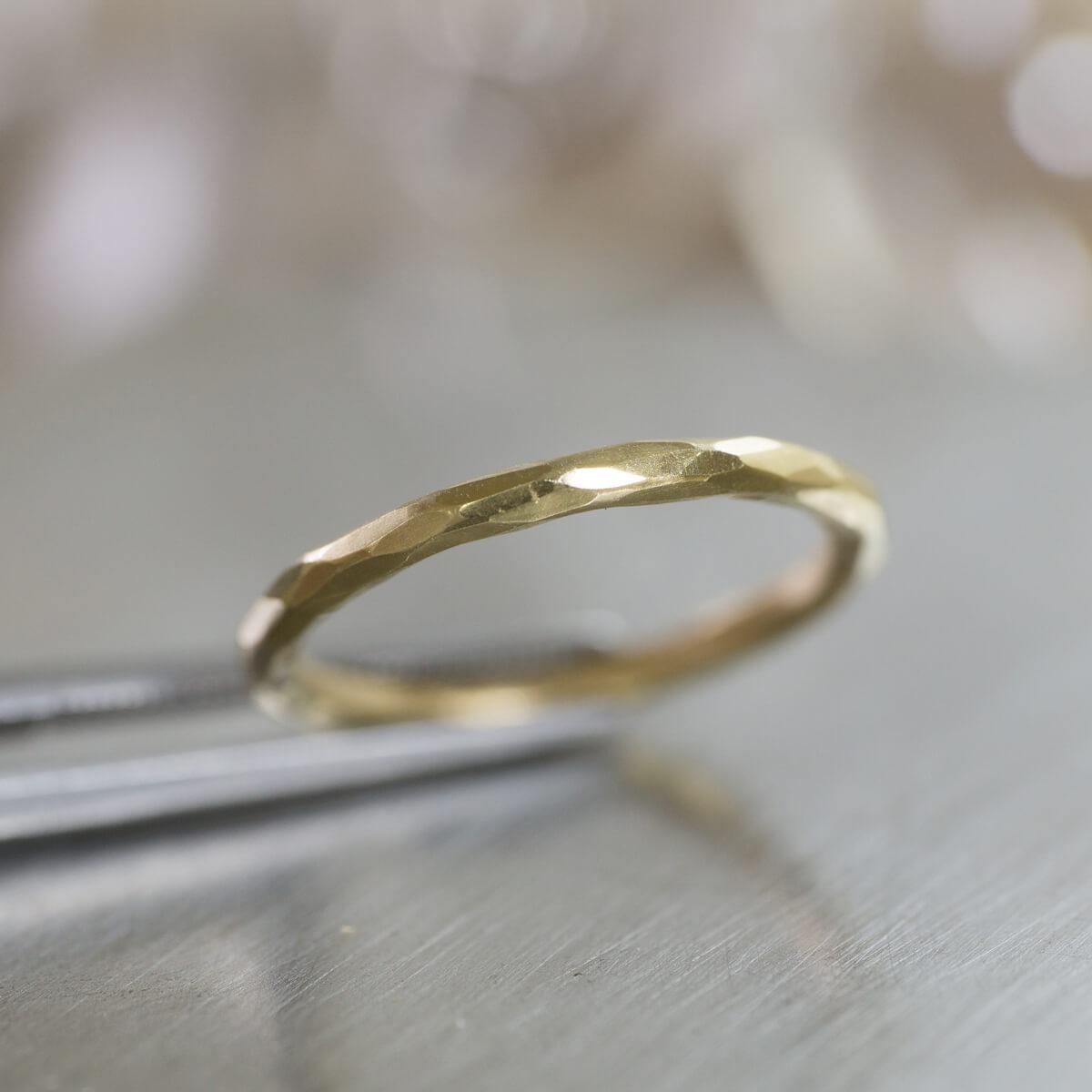 角度2 オーダーメイドマリッジリング ジュエリーのアトリエ ゴールド 屋久島でつくる結婚指輪